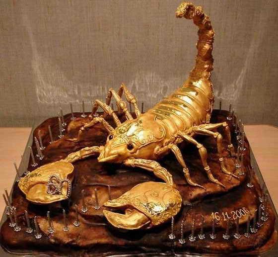 Торт для скорпиона