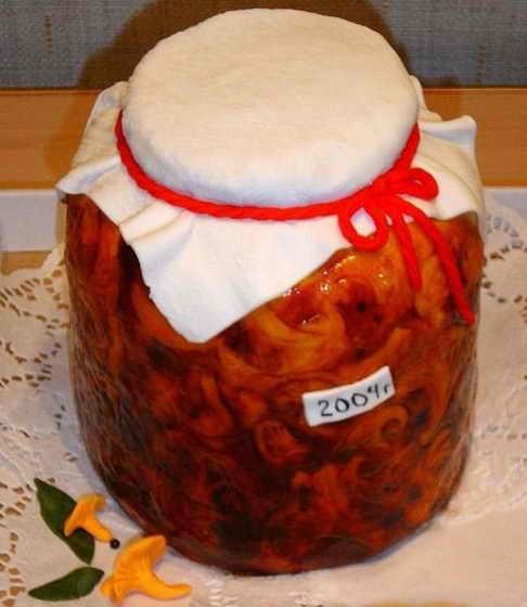 Торт - консервации