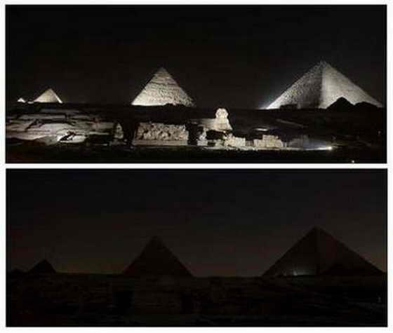 пирамиды Гиза и Сфинкс