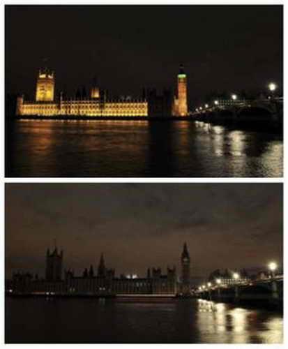 """Час Земли"", Английский парламент, Лондон"