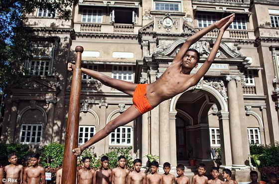 спорт Mallakhamb