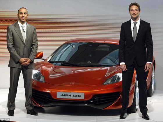 Автомобиль McLaren MP4-12C
