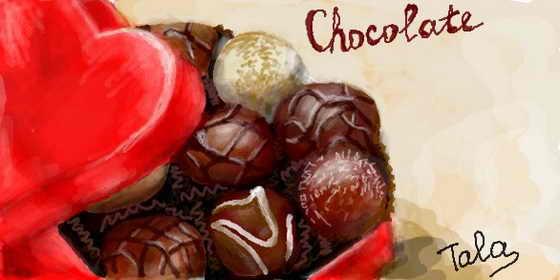 Шоколадные конфеты - аж слюнки текут