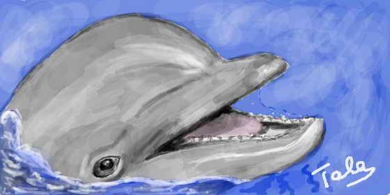 Дельфин - прямо как живой