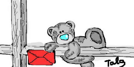 Забавный медвежонок