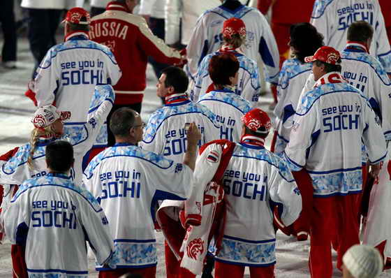 Олимпийские игры. Российские спортсмены