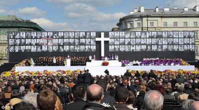 Похоронная церемония в Варшаве
