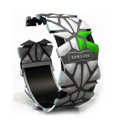 елефон-браслет от Samsung