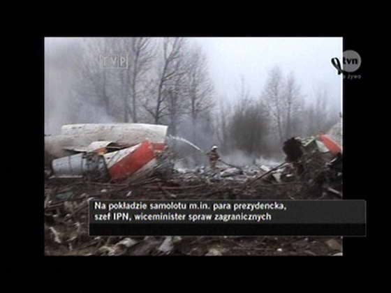 Крушение самолета Туполева с Президентом