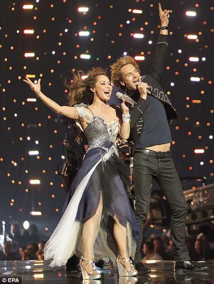 Красивый дуэт Chanee & N'evergreen из Дании оказались на 4-м месте