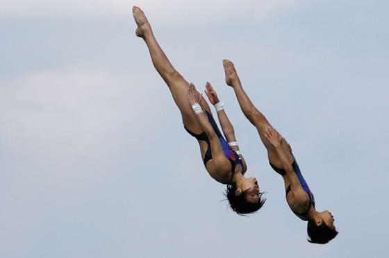 Фотографии прыжков в воду