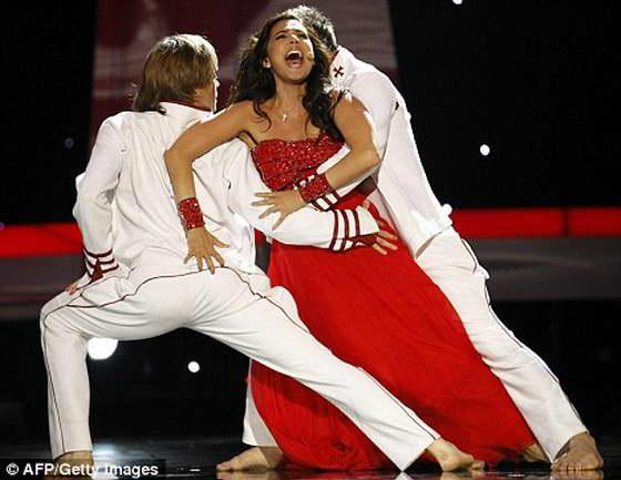София Нижарадзе с оперным голосом из Грузии оказалась на 9-й строчке Евровидения-2010
