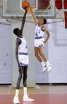 Самый высокий баскетболист