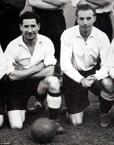 Айвор Пауэлл в 40-е годы с сэром Стэнли Мэтью