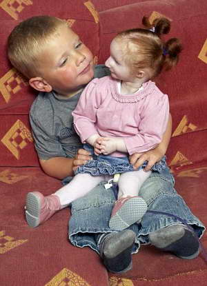 Самая маленькая девочка в мире отмечена Книгой рекордов Гиннеса