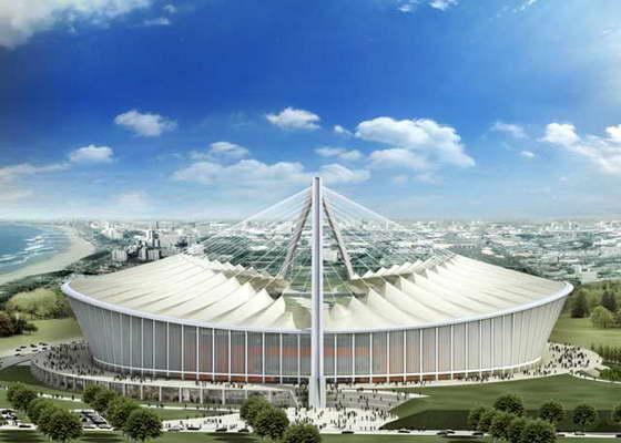 Стадион Моисея Мабхида (Moses Mabhida Stadium)