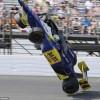 Британский гонщик Майк Конвей попал в страшную аварию и остался жив (фото+видео)