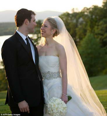 Свадьба Челси Клинтон (фото)