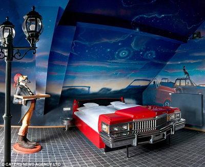 Отель Hotel CAR-ifornia