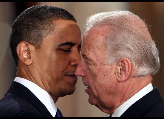 Барак Обама и Байден