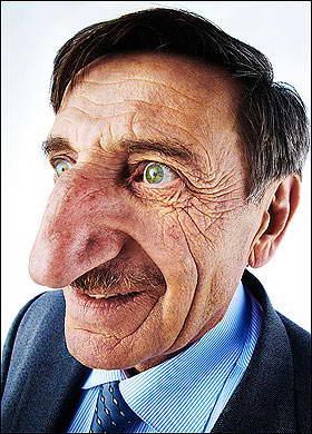 Самый длинный и большой нос
