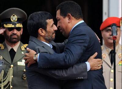 Уго Чавес и Махмуд Ахмадинежад