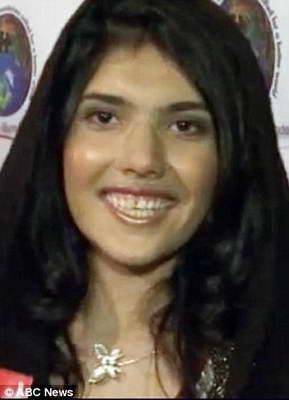 афганская девушка Аиша