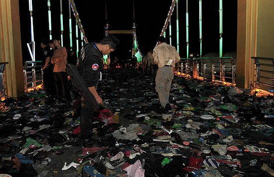 Давка в столице Камбоджи Пномпене