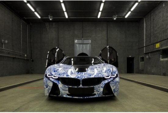 Электромобиль BMW
