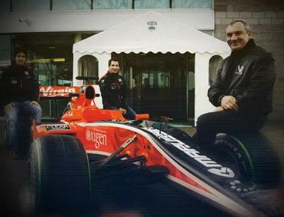 Формулы-1 Marussia Virgin