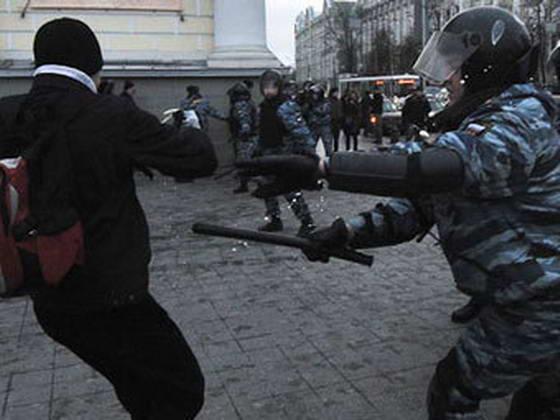 Погром на Манежной площади
