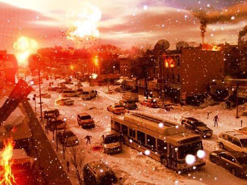 Снежный хаос