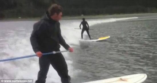 Аляска серфинг
