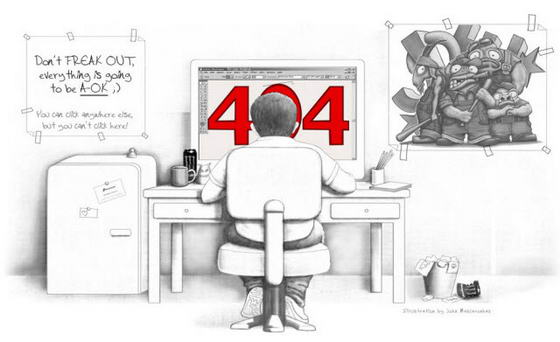 Страница с ошибкой 404