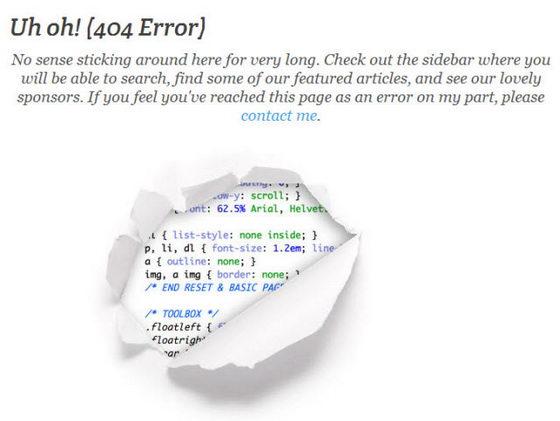 Прикольная 404