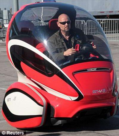 электрический автомобиль EN-V