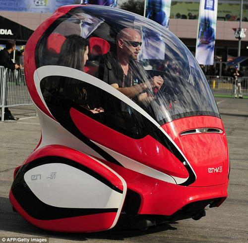 Автомобиль будущего EN-V от General Motors