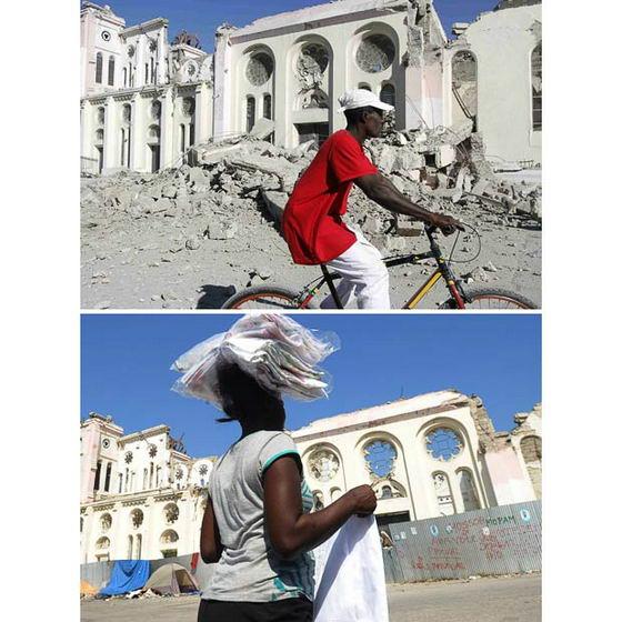 Разрушенный Гаити