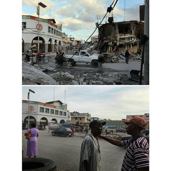 Восстановление Гаити