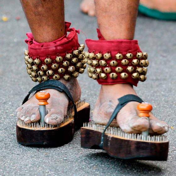 Индусская обувь