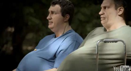Ожиревшие братья Кличко