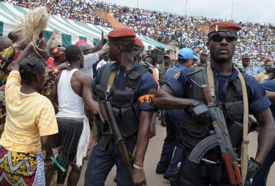 Митинг в Кот-д'Ивуар