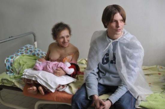 украинка Мария Украинец с мужем Олегом