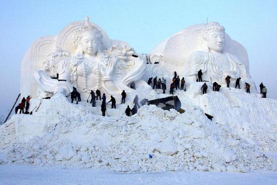 Снежный Будда