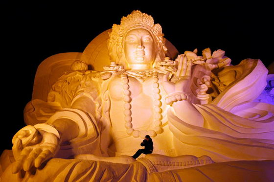 Снежные Будды