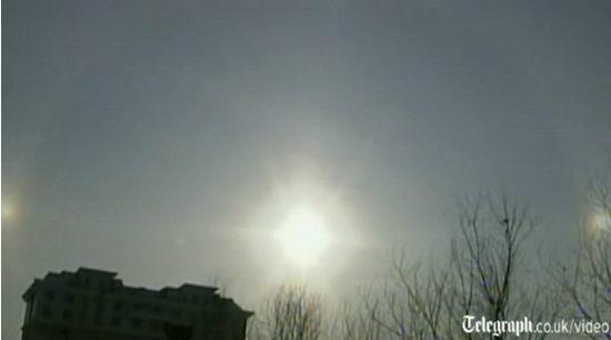 Три солнца над Китаем