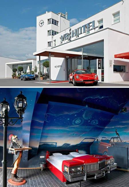 Авто отель V8