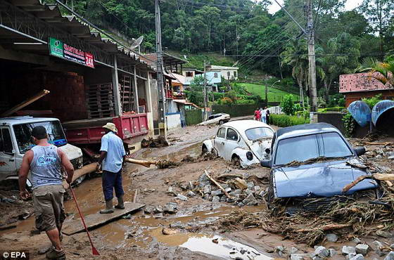 стихия в Бразилии
