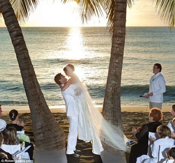 Свадьба Шэнайя Туэйн
