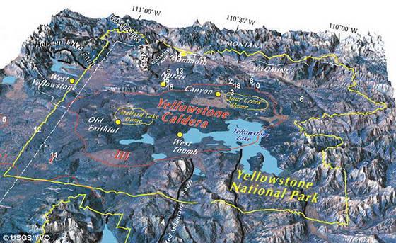 В США может начаться извержение самого большого вулкана в мире в ...